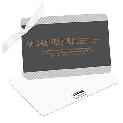 Elegant Angles Graduation Announcements