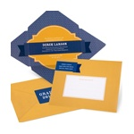 Diamond in the Rough Folded Self Mailer -- Graduation Invitation