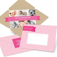 Simply Sweet Self Mailer in Pink