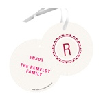Merry Little Monogram -- Christmas Gift Tags