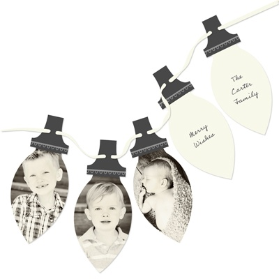 Picture Perfect Lights -- Photo Christmas Cards