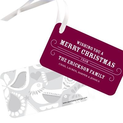Creative Cheer Christmas Gift Tags