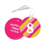 Girl Gift Tag -- Favor Gift Tags