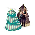Folk Art Christmas Tree -- Ornament Christmas Cards