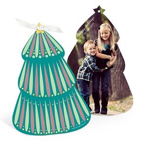 Folk Art Christmas Tree -- Christmas Cards