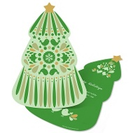 Die Cut Christmas Tree