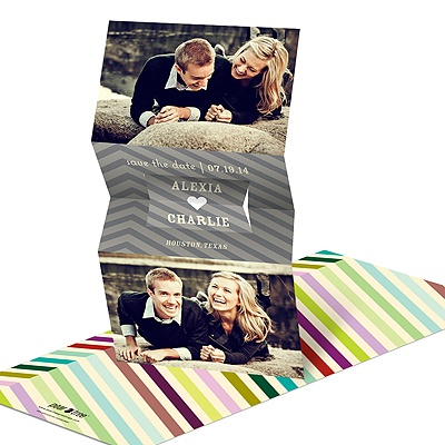Heartfelt Hues -- Creative Save the Date Cards