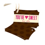 You're Sweet -- Valentine Gift Tags