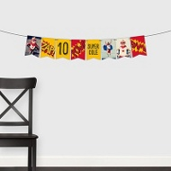 Calling All Superheroes Banner -- Kids Party Decorations