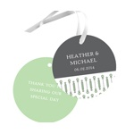Symbolic Circles -- Wedding Favor Tags