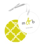 Patterned Perfection -- Wedding Favor Tags