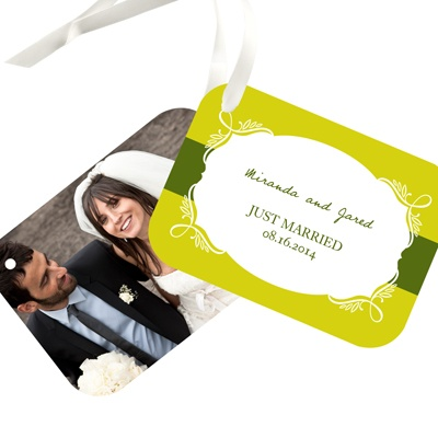 Enamored with Elegance Wedding Gift Tags