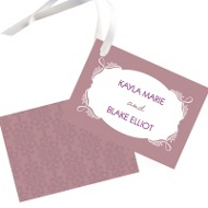 Fairy Tale Design Wedding Gift Tags