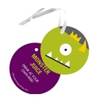 Monster Bash -- Kids Gift Tags