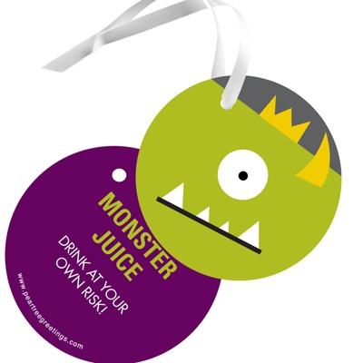 Monster Bash Kids Gift Tags