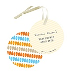 Dotted Shower -- Baby Shower Gift Tags