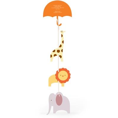 Safari Shower Baby Shower Invitations