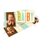 Baby Book -- Photo Baby Announcements