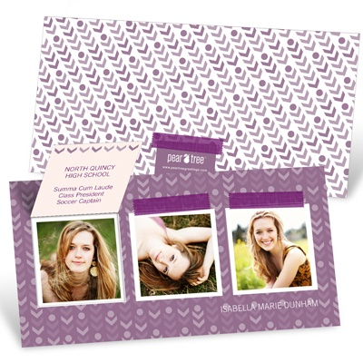 Going My Way Pop Up -- Graduation Invitations
