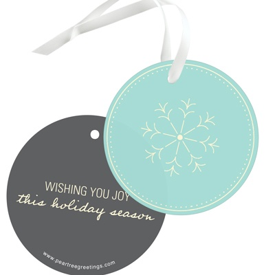 Ticket To Wonderland Christmas Gift Tags
