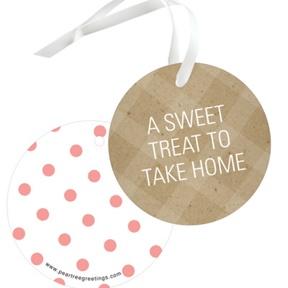 Gingerbread Joy -- Christmas Gift Tags