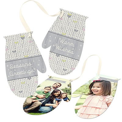 Memorable Mittens Photo Christmas Cards
