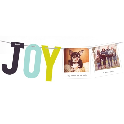 Snapshots of Joy Photo Christmas Cards