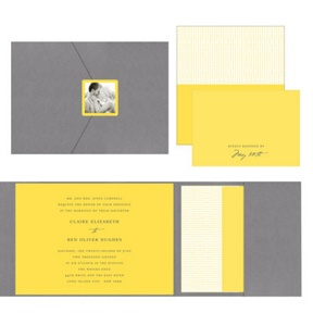 Modern Mix -- Wedding Invitations