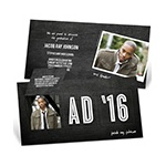 Chalk Talk Pop Up -- Graduation Announcements & Invitations