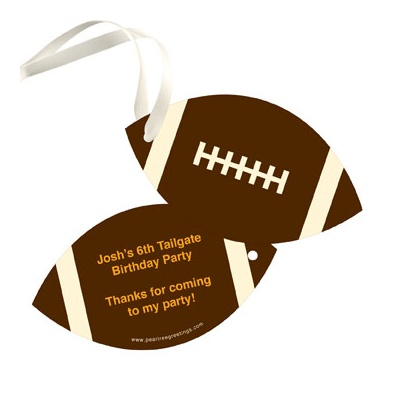 Football Draft Pick -- Gift Tags