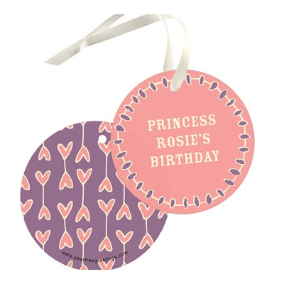 Crown Me Princess Gift Tags