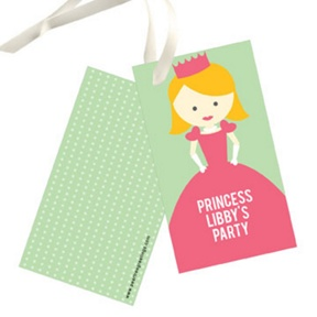 A Princess Like Me -- Gift Tags
