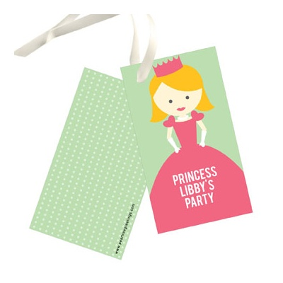 A Princess Like Me Gift Tags
