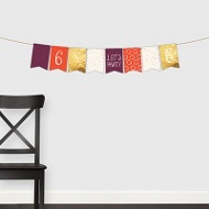 Charming Party Banner -- Kids Party Decorations