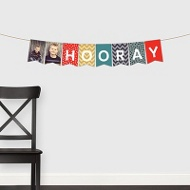 Dots & Chevrons Banner -- Kids Party Decorations
