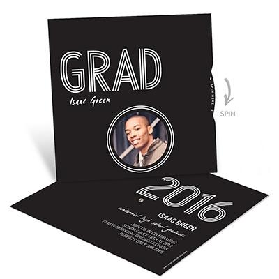 Wheel of Photos Graduation Announcements