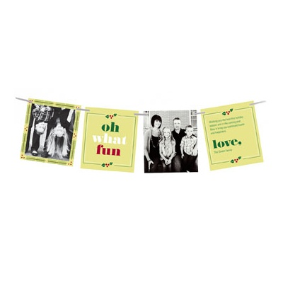 Four Card Greeting Photo Christmas Cards
