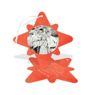 Pointed Star Ornament Religious Christmas Cards