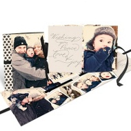 Thread The Ribbon Booklet Christmas Cards