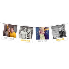 Snapshots In Time -- Save The Date Cards