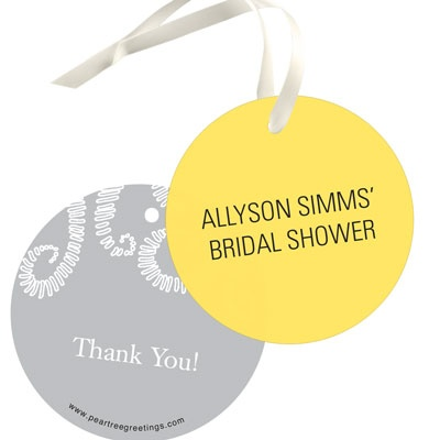 Happily Every After Favor Tags Bridal Shower Decorations
