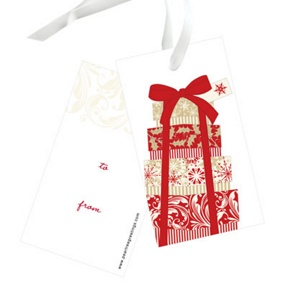Elegant Gifts -- Christmas Gift Tags