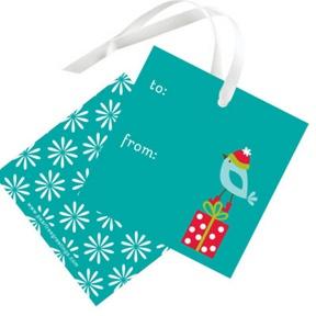 Winter Wonderland -- Christmas Gift Tags