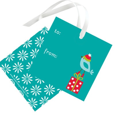 Winter Wonderland Christmas Gift Tags