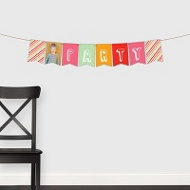 Sip Something Cool Banner -- Kids Party Decorations