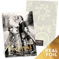 Foil Noel Religious Christmas Cards