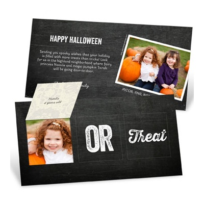 Open If You Dare Pop Up Halloween Photo Cards