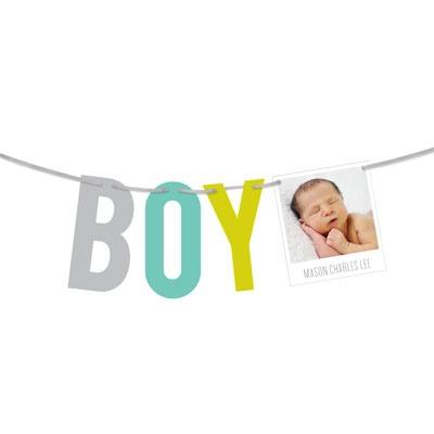 It's A Boy Baby Boy Announcements