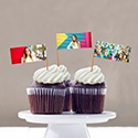 Graduation Cupcake Flags