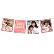 Hearts & Photos Ribbon Strand Valentine's Day Photo Cards